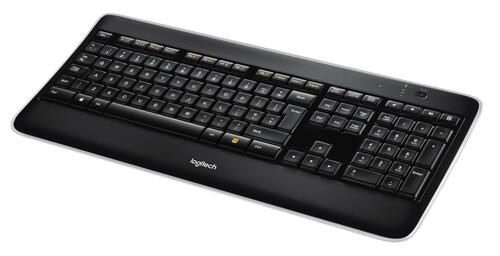 Logitech K800 Keyboard, Nordic Wireless
