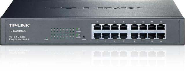 TP-LINK 16 ports switch 10/100/1000