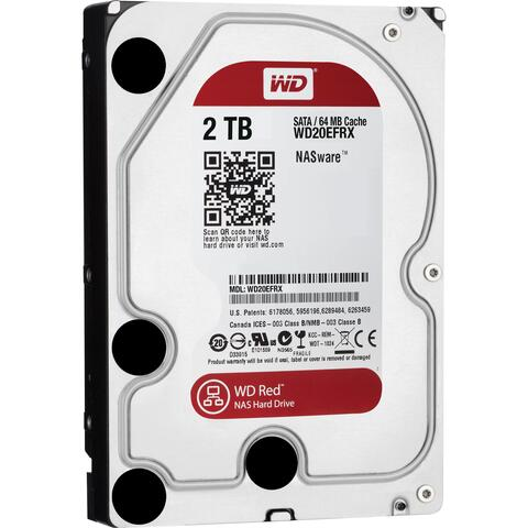 "Western Digital Red HDD 3,5"" 2TB"